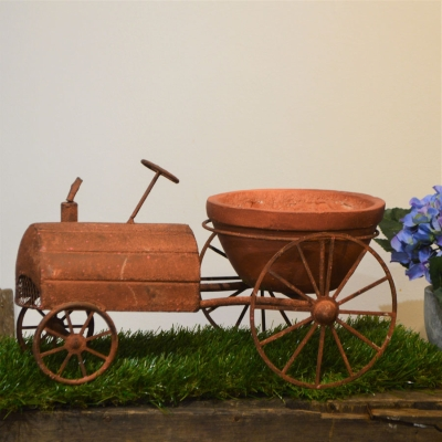Rusty Tractor planter