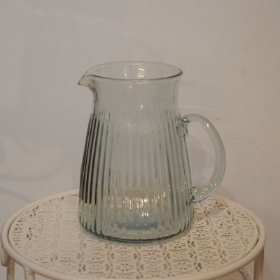Glassed Ribbed Jug